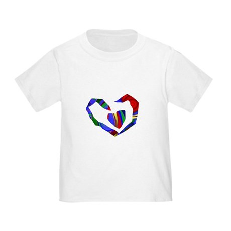 Abstract Heart Toddler T-Shirt