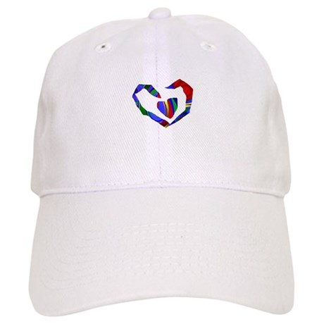 Abstract Heart Cap