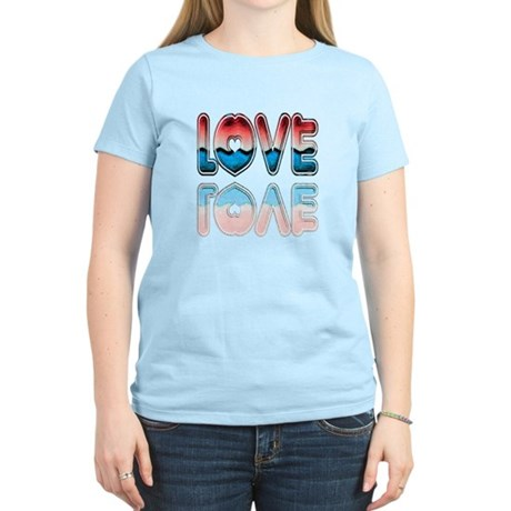 Valentine Love Women's Light T-Shirt