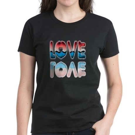 Valentine Love Women's Dark T-Shirt