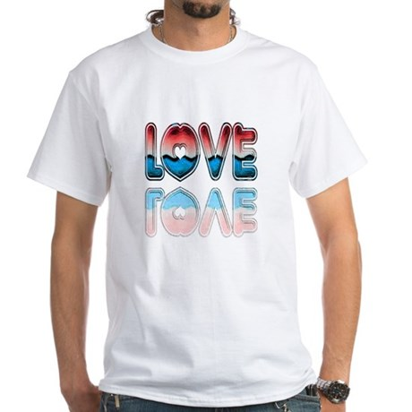 Valentine Love White T-Shirt