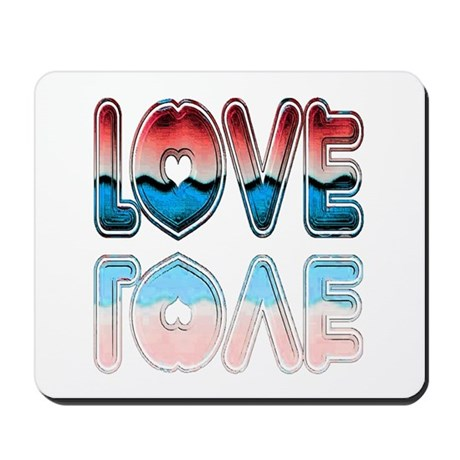 Valentine Love Mousepad