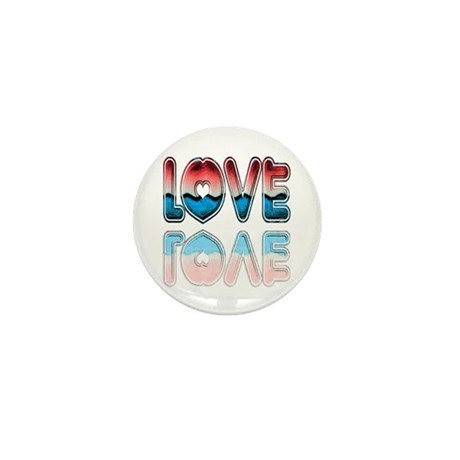 Valentine Love Mini Button