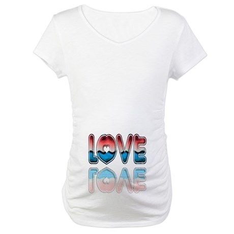 Valentine Love Maternity T-Shirt
