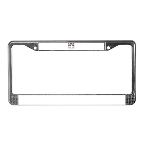 Valentine Love License Plate Frame