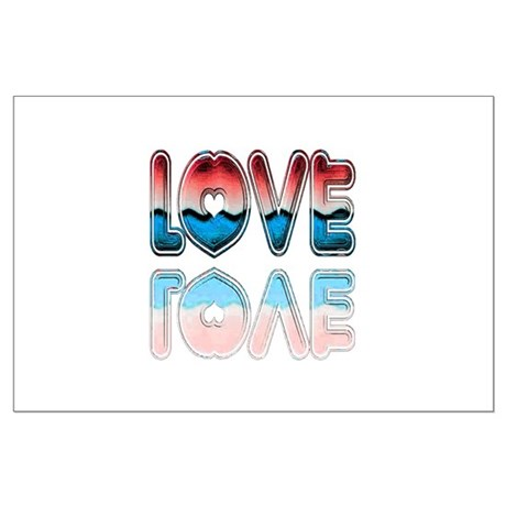 Valentine Love Large Poster