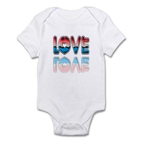 Valentine Love Infant Bodysuit