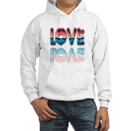 Valentine Love Hooded Sweatshirt