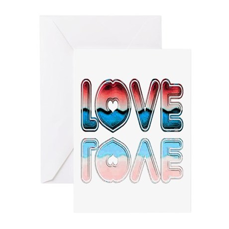 Valentine Love Greeting Cards (Pk of 10)