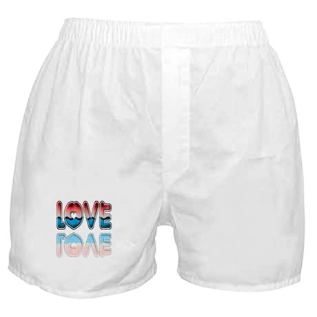 Valentine Love Boxer Shorts