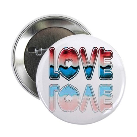 "Valentine Love 2.25"" Button"