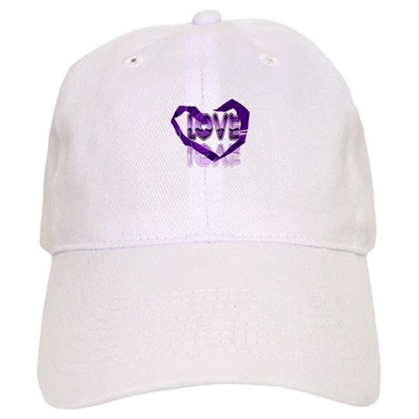 Abstract Love Heart Cap
