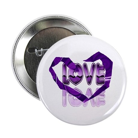 "Abstract Love Heart 2.25"" Button"
