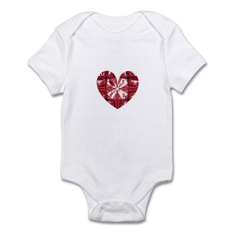 Kaleidoscope Heart Infant Bodysuit