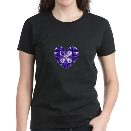 Kaleidoscope Heart Women's Dark T-Shirt