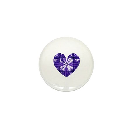 Kaleidoscope Heart Mini Button (100 pack)