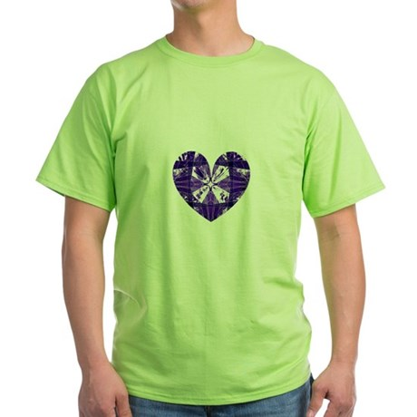 Kaleidoscope Heart Green T-Shirt