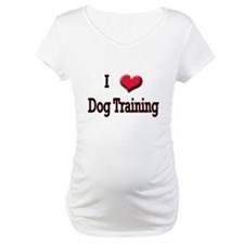 I Love (Heart) Dog Training Shirt