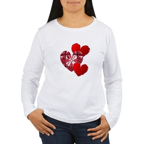 Country Hearts Women's Long Sleeve T-Shirt