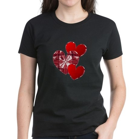 Country Hearts Women's Dark T-Shirt