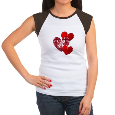 Country Hearts Women's Cap Sleeve T-Shirt