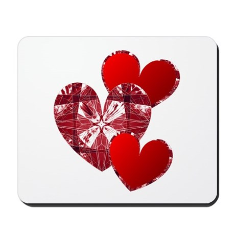Country Hearts Mousepad