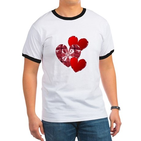 Country Hearts Ringer T