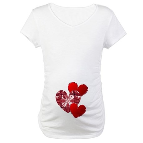 Country Hearts Maternity T-Shirt