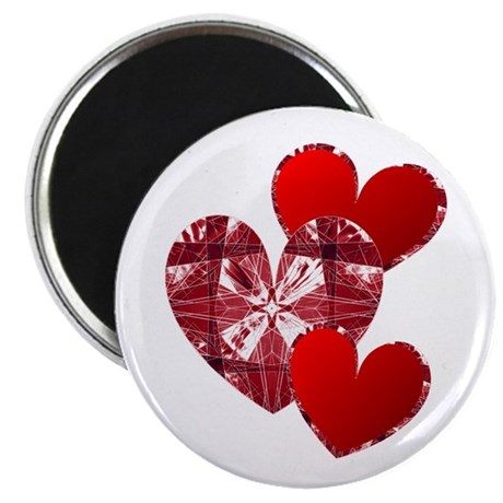 "Country Hearts 2.25"" Magnet (10 pack)"
