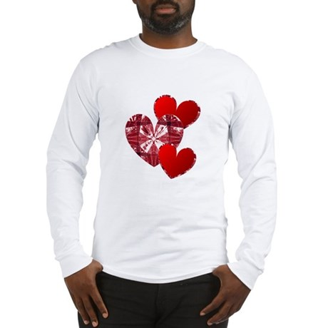 Country Hearts Long Sleeve T-Shirt