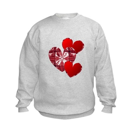 Country Hearts Kids Sweatshirt