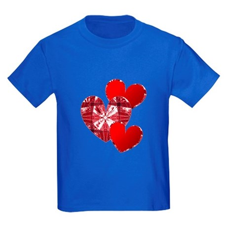 Country Hearts Kids Dark T-Shirt