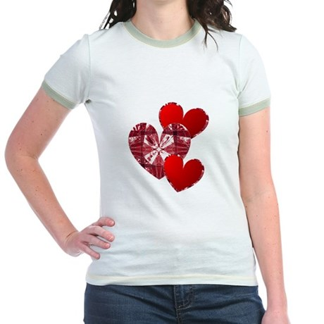 Country Hearts Jr. Ringer T-Shirt
