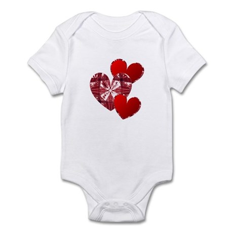 Country Hearts Infant Bodysuit