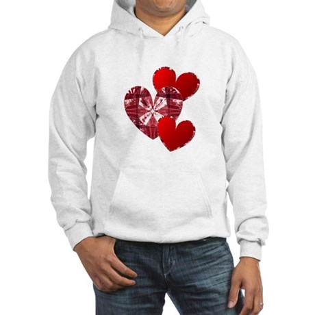 Country Hearts Hooded Sweatshirt