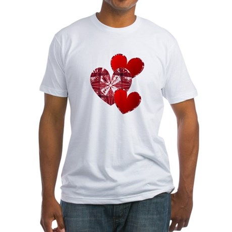 Country Hearts Fitted T-Shirt