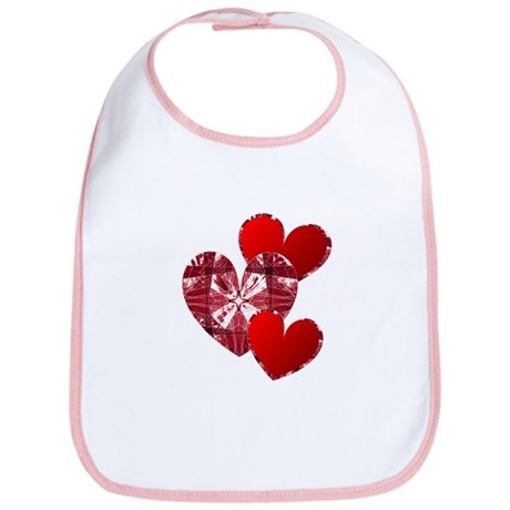 Country Hearts Bib