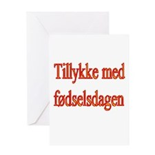 Unique Danish Greeting Card