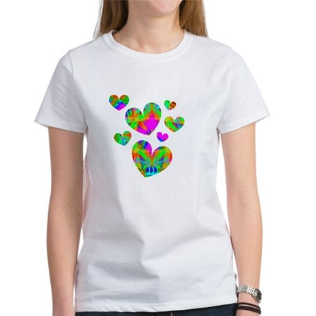 Kaleidoscope Hearts Women's T-Shirt