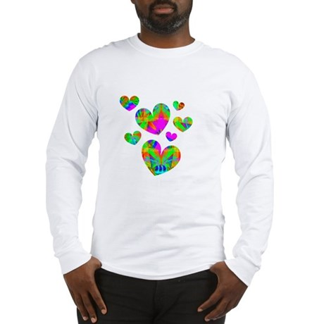 Kaleidoscope Hearts Long Sleeve T-Shirt