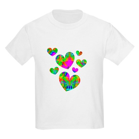 Kaleidoscope Hearts Kids Light T-Shirt
