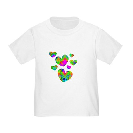Kaleidoscope Hearts Toddler T-Shirt
