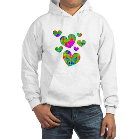 Kaleidoscope Hearts Hooded Sweatshirt