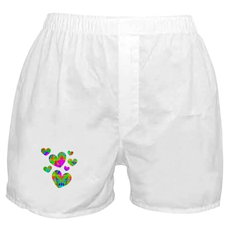 Kaleidoscope Hearts Boxer Shorts
