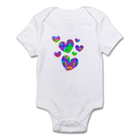 Kaleidoscope Hearts Infant Bodysuit