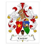 Caspar Family Crest Small Poster
