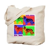 Collie Culture Tote Bag