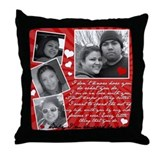 Rolando's Wife's Throw Pillow