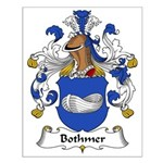 Bothmer Family Crest Small Poster