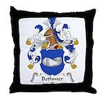 Bothmer Family Crest Throw Pillow